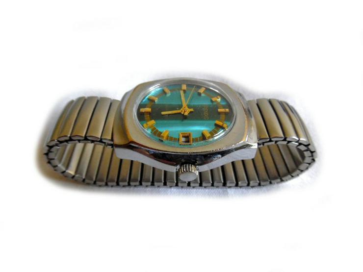 Bild 4: Seltene Herrenarmbanduhr von Spendid
