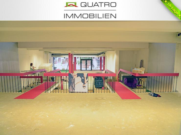 Bild 3: Ladenlokal mit Split-Level-Ebenen in Opladener Fußgängerzone