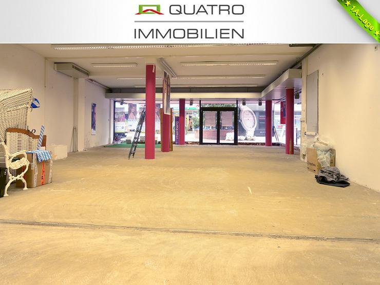 Bild 2: Ladenlokal mit Split-Level-Ebenen in Opladener Fußgängerzone