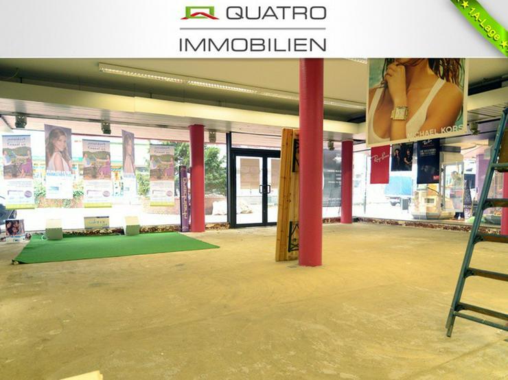 Ladenlokal mit Split-Level-Ebenen in Opladener Fußgängerzone