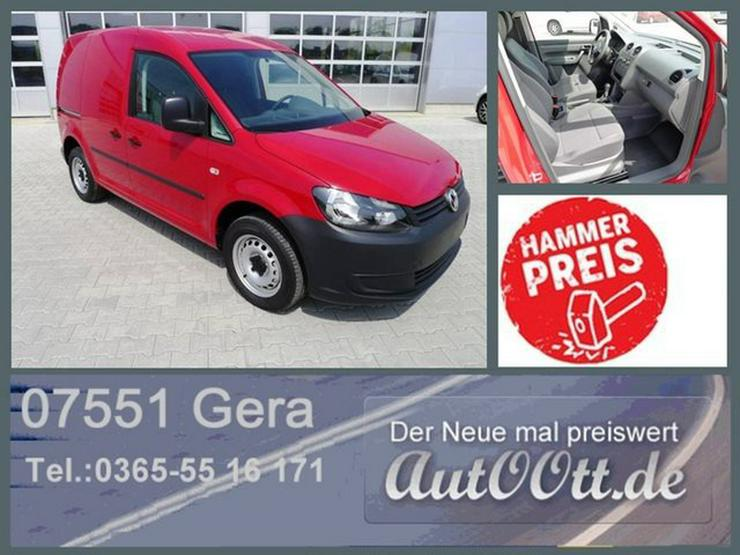 VW Caddy Kasten 1.6 TDI Klima,elFH,el.Spiegel/Lager