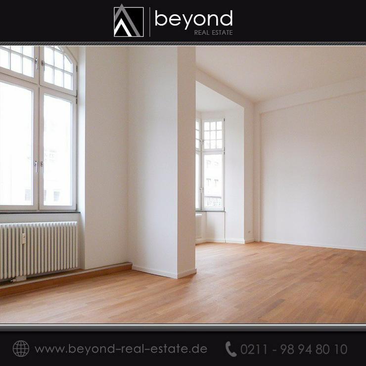 Stilvolle, sanierte Altbauwohnung mit Kö-Blick - Wohnung mieten - Bild 1