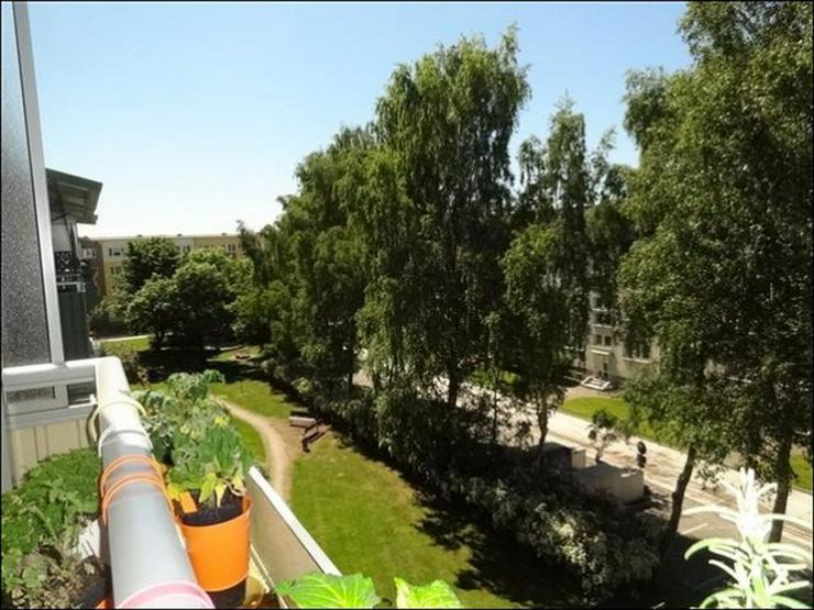 Bild 6: Schöne sanierte 2-Raumwohnung mit Balkon im 4. Stock, viel Grün und sehr ruhig.