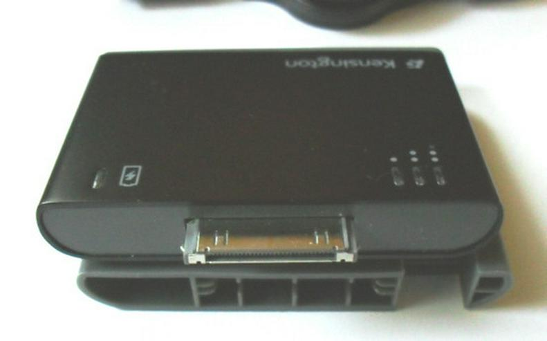Bild 3: iPhone und iPod Mini-Akku Pack und Ladegerät