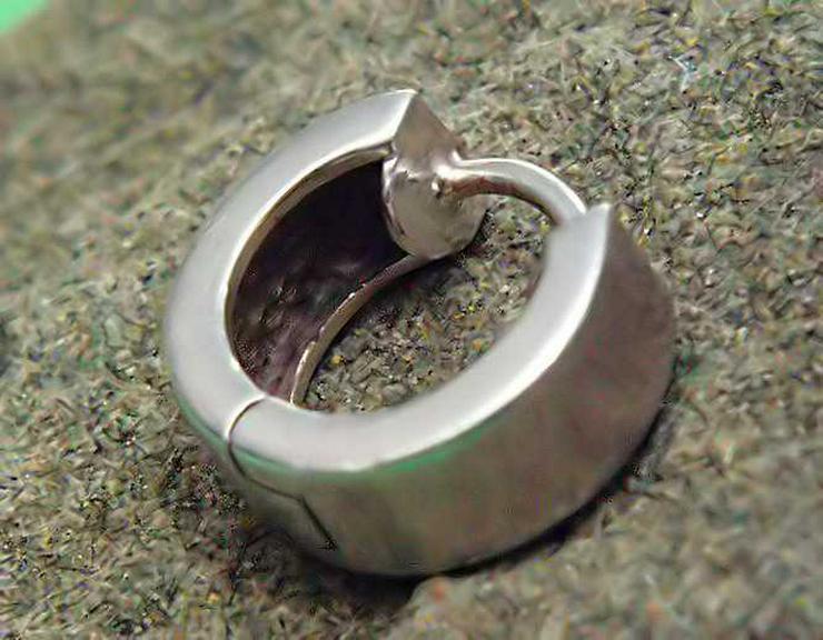 Bild 5: 1x CREOLE - Klappcreole + 1x Perlen Ohrring