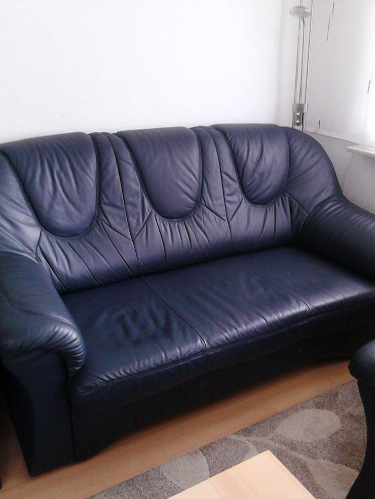 Bild 2: Leder sofa
