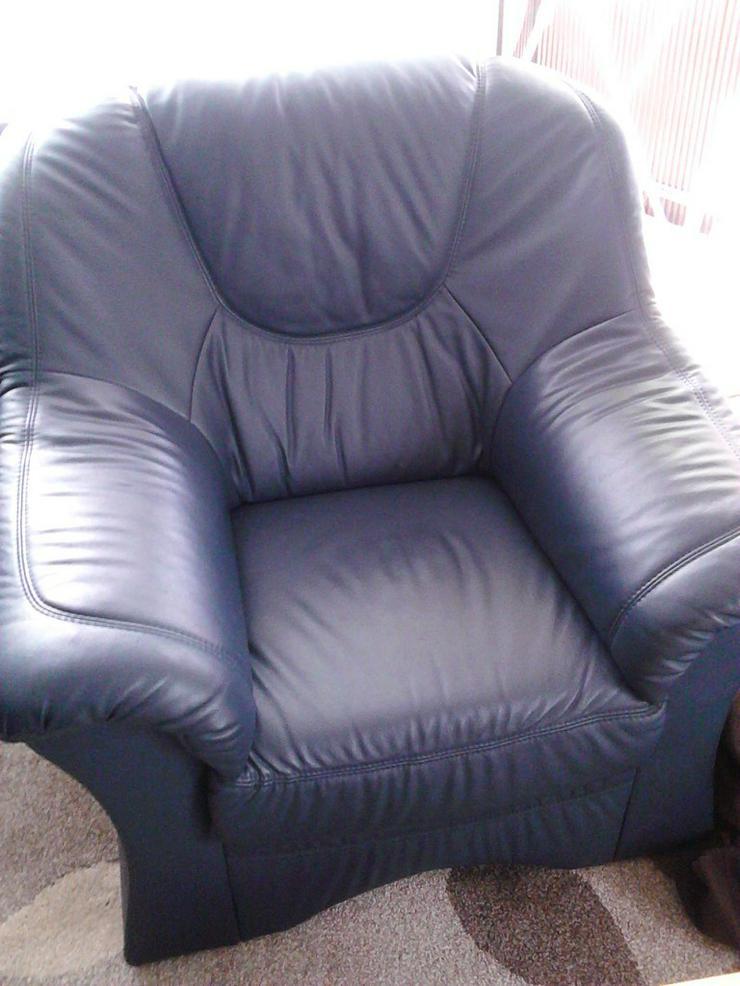 Bild 3: Leder sofa