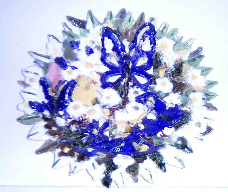Wandschmuck Blumenteller