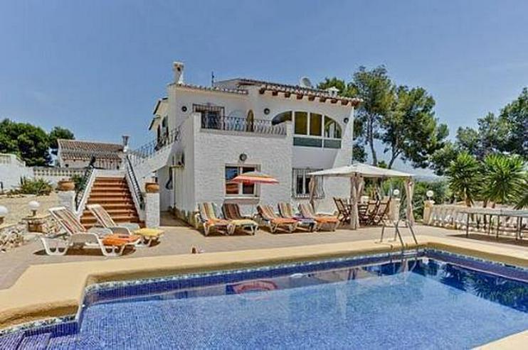 Renovierte Villa mit Pool in Moraira-Cometa - Haus kaufen - Bild 1