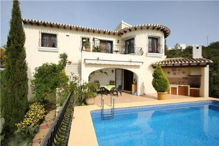 Wunderschöne Villa mit Pool, Meersicht und Gästewohnung am Monte Pego - Haus kaufen - Bild 1
