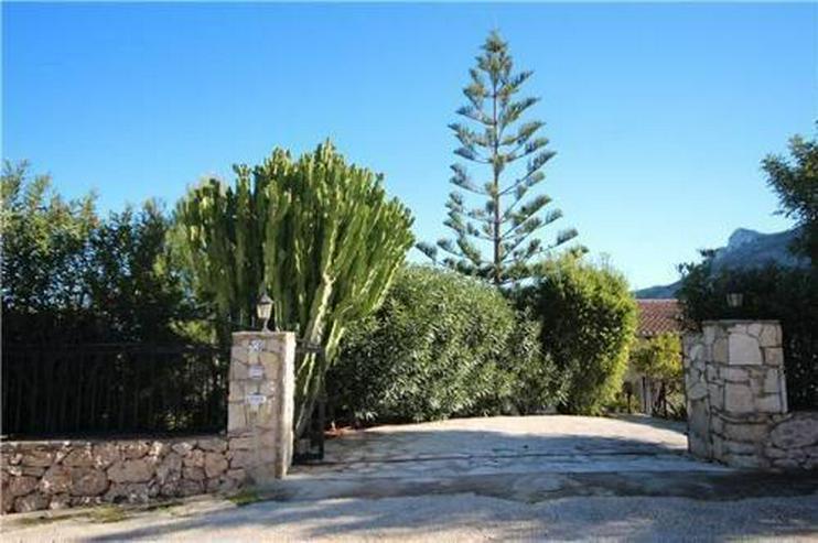Bild 4: Villa mit Gästewohnung, Pool, traumhaftem Garten und Meerblick am Monte Pego