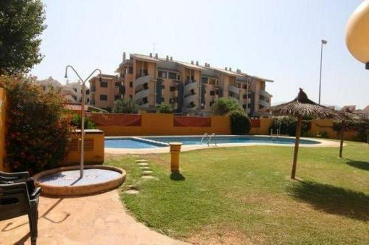 Bild 2: Strandnahe Penthouse-Wohnung mit Gemeinschaftspool und Panoramablick