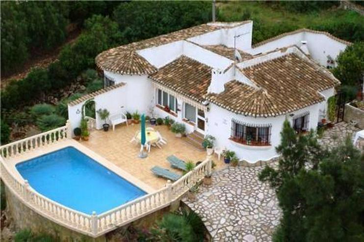 Villa am Monte Pego mit toller Sicht über die Reisfelder, auf das Meer und auf die Berge - Haus kaufen - Bild 1