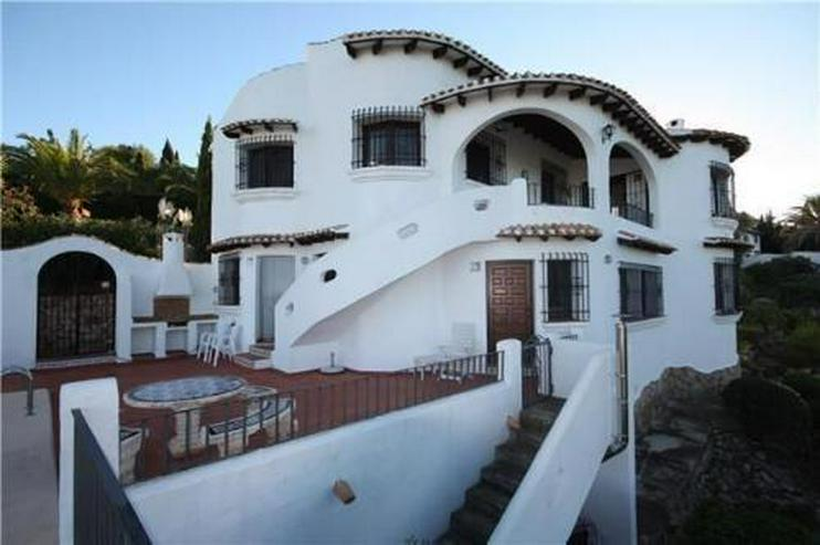 Bild 1: Sehr schön gelegene Villa mit Pool und zwei Wohneinheiten auf dem Monte Pego