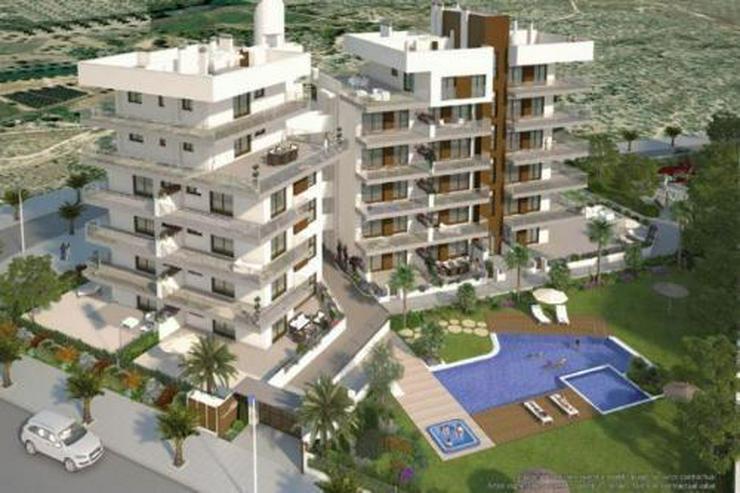 Bild 1: 4-Zimmer-Penthouse-Wohnungen nur 500 m vom wunderschönen Sandstrand