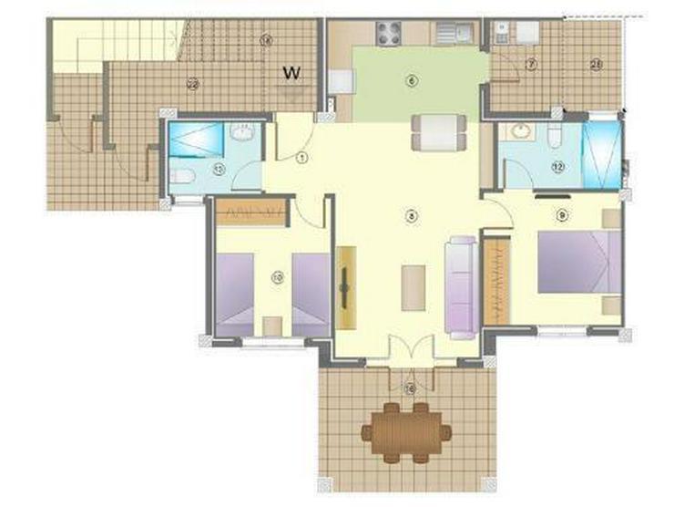 Bild 4: Wunderschöne Erdgeschoss-Wohnungen mit Gemeinschaftspool