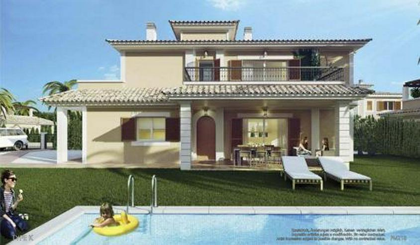 Bild 2: Wunderschöne 4-Zimmer-Villen nur 1 km vom Strand