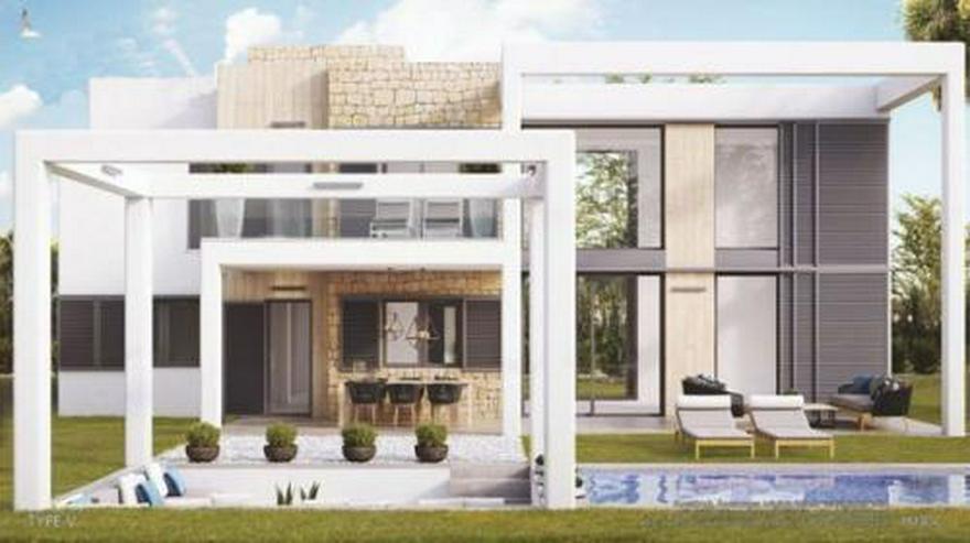 Bild 2: Moderne 2-Schlafzimmer-Villen mit Gemeinschaftspool