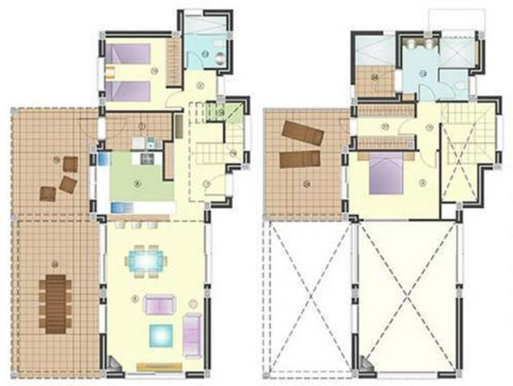 Bild 5: Moderne 2-Schlafzimmer-Villen mit Gemeinschaftspool