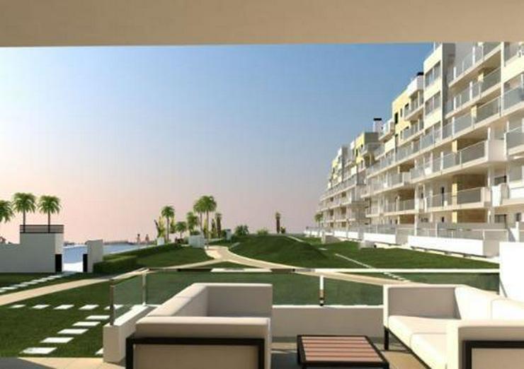 Wunderschöne 2-Schlafzimmer-Penthouse-Wohnungen mit Meerblick nur 200 m vom Strand