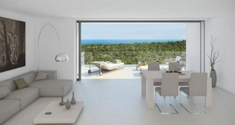 Luxus-Penthouse-Wohnungen mit Meerblick in exklusivem Golf Resort
