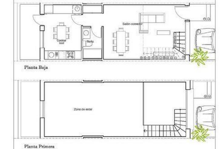 Bild 8: Moderne Reihenhäuser mit 1, 2 oder 3 Schlafzimmern und Gemeinschaftspool