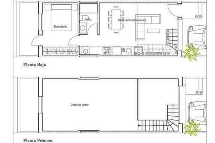 Bild 5: Moderne Reihenhäuser mit 1, 2 oder 3 Schlafzimmern und Gemeinschaftspool