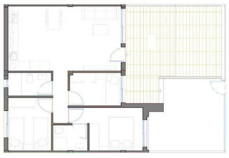 Bild 4: 4-Zimmer-Erdgeschoss-Wohnungen in Strandnähe