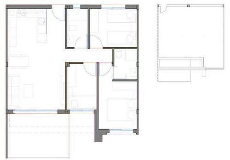 Bild 4: 4-Zimmer-Penthouse-Wohnungen in Strandnähe