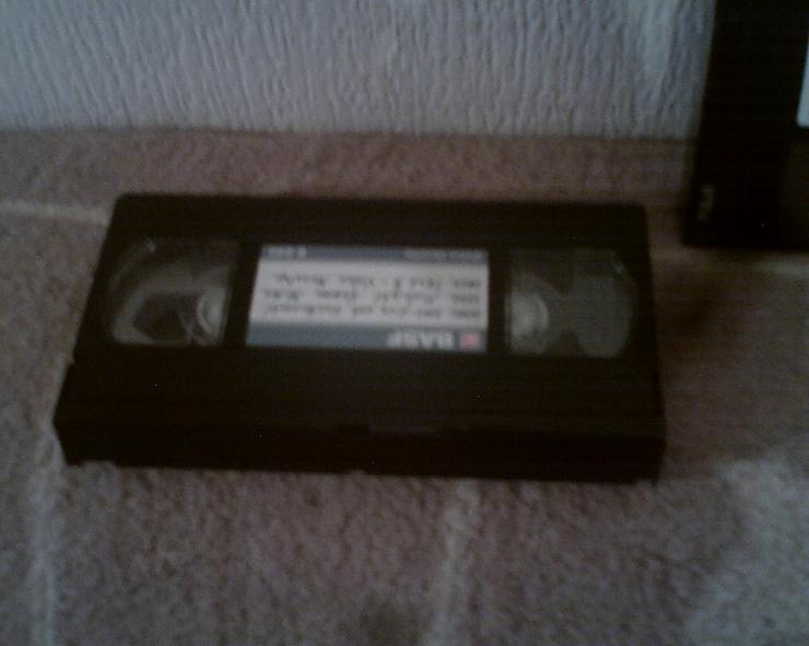 Bild 2: VHS-CASSETTEN