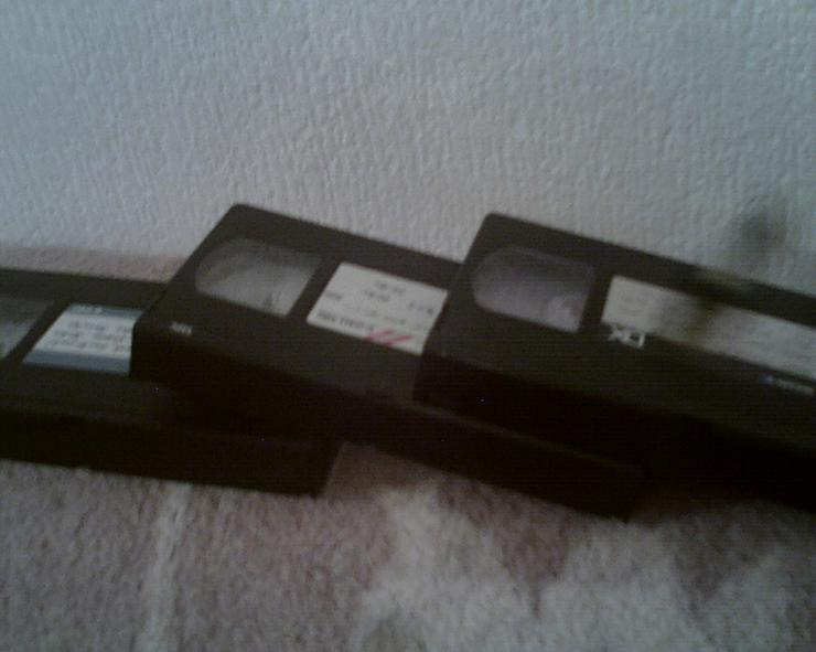 Bild 3: VHS-CASSETTEN