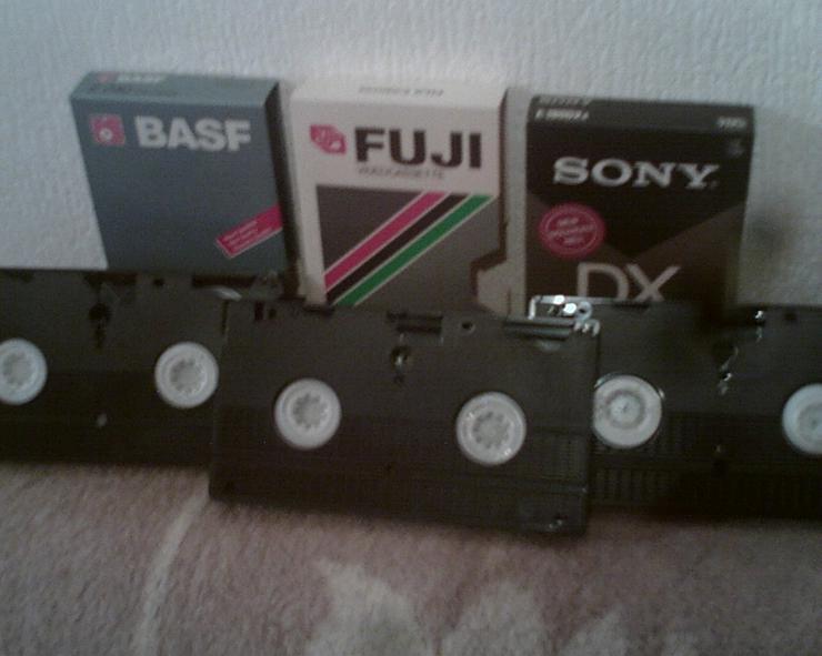 Bild 5: VHS-CASSETTEN