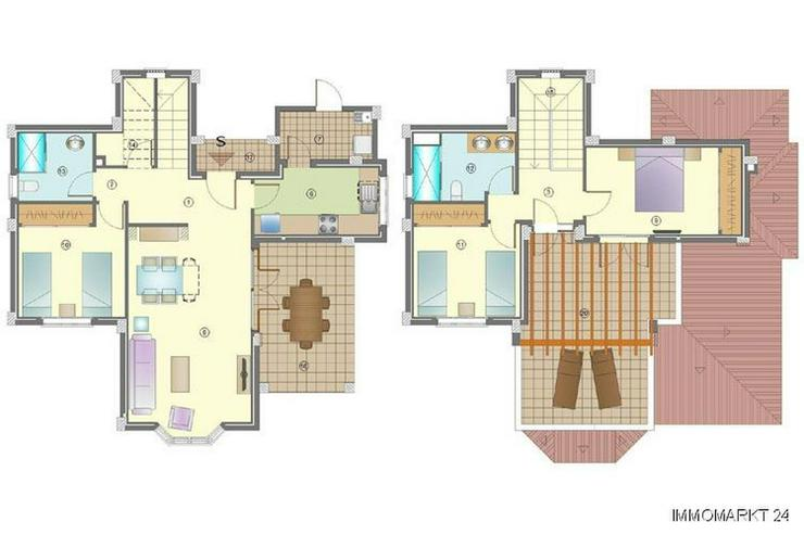 Bild 4: Wunderschöne 4-Zimmer-Villen nur 1 km vom Strand