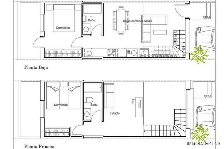 Bild 6: Moderne Reihenhäuser mit 1, 2 oder 3 Schlafzimmern und Gemeinschaftspool