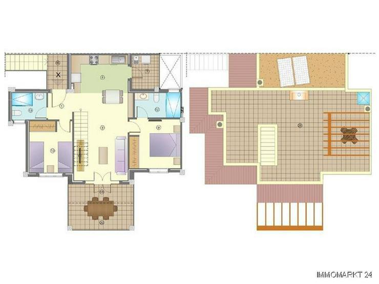 Bild 4: Wunderschöne Obergeschoss-Wohnungen mit Gemeinschaftspool
