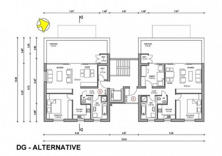 Bild 3: ***Moderner Neubau - geplante Penthousewohnung in bester Lage***