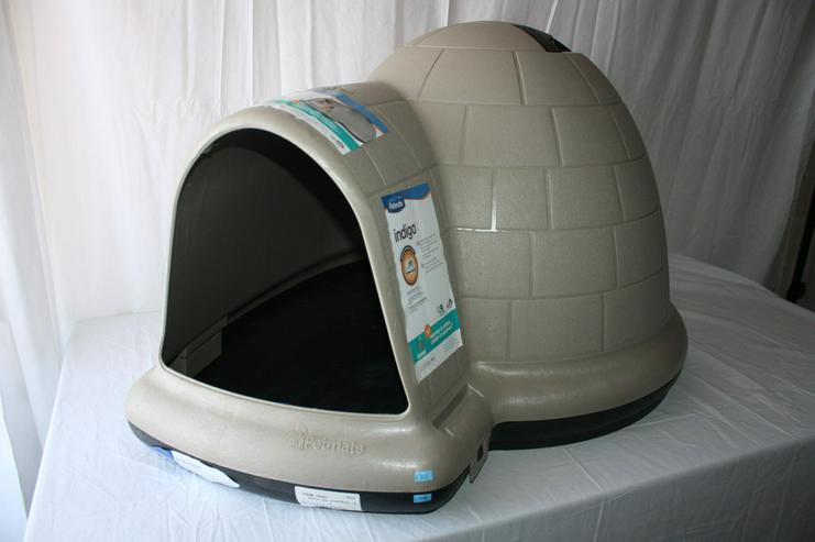 Kunststoff-Hundehütte Indigo von Petmate