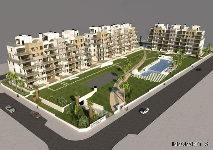 Bild 3: Wunderschöne 2-Schlafzimmer-Penthouse-Wohnungen mit Meerblick nur 200 m vom Strand