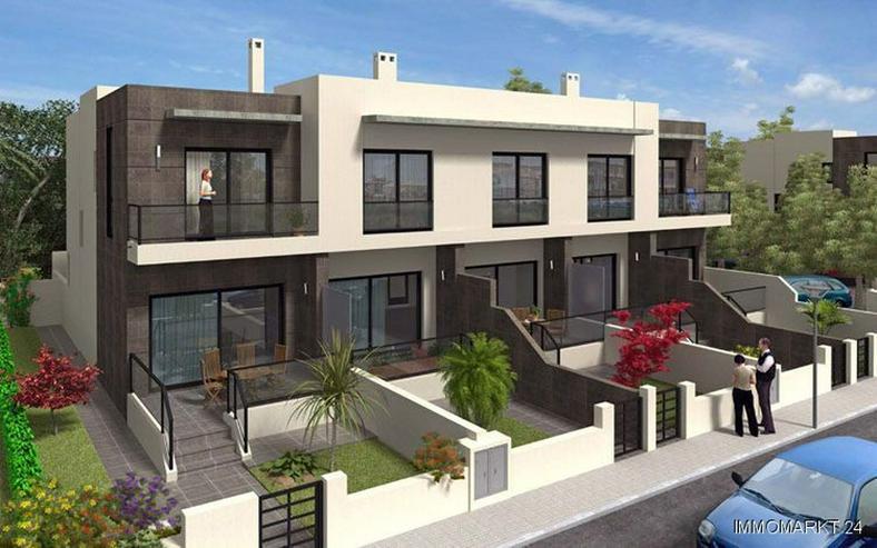 Moderne Neubau-Reihenhäuser mit 2 Schlafzimmern und kleinem Souterrain - Haus kaufen - Bild 1