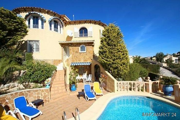 Attraktive Villa mit Pool und Meerblick am Cumbre del Sol - Haus kaufen - Bild 1
