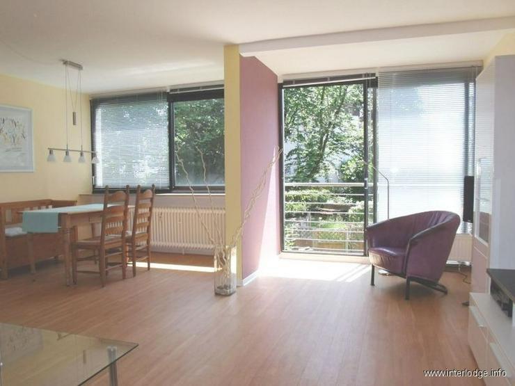 INTERLODGE Modern und charmant möblierte Wohnung mit schönem Garten in Essen-Stadtwald.