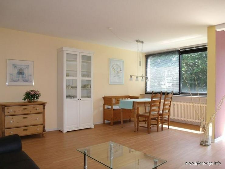 Bild 4: INTERLODGE Modern und charmant möblierte Wohnung mit schönem Garten in Essen-Stadtwald.