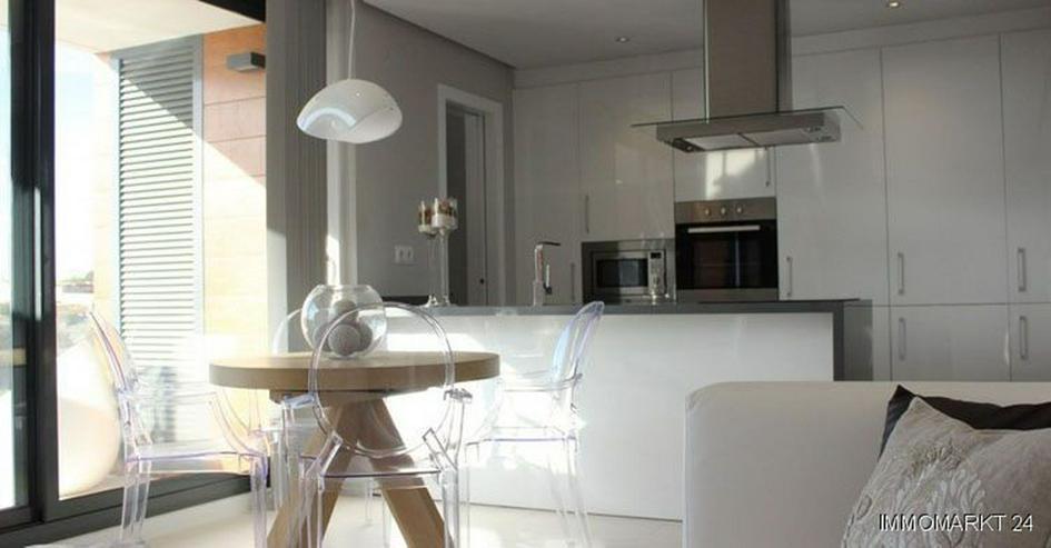 Bild 2: Moderne 4-Zimmer-Penthouse-Wohnungen mit Golf- und Meerblick