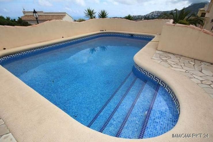 Bild 4: Villa mit Pool und tollem Ausblick auf das Meer in Rafol de Almunia