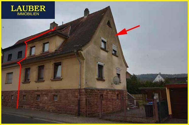 LAUBER IMMOBILIEN: Älteres 1-FH/DHH in zentraler Ortslage von Freigericht-Neuses - Haus kaufen - Bild 1