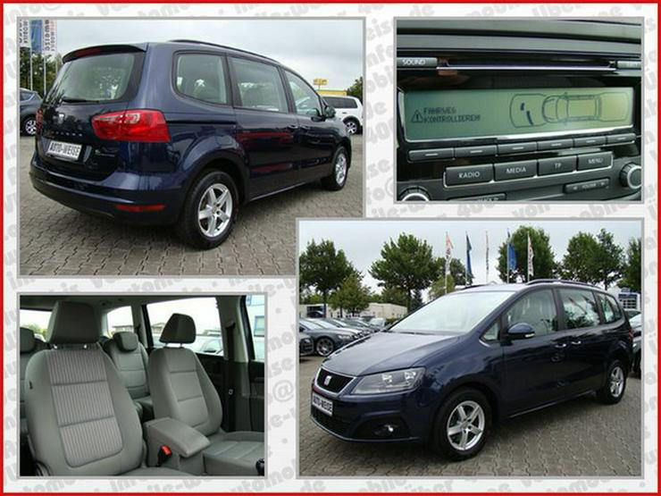 Bild 5: SEAT Alhambra 2.0TDI Ecomotive Lifestyle Paket PDC