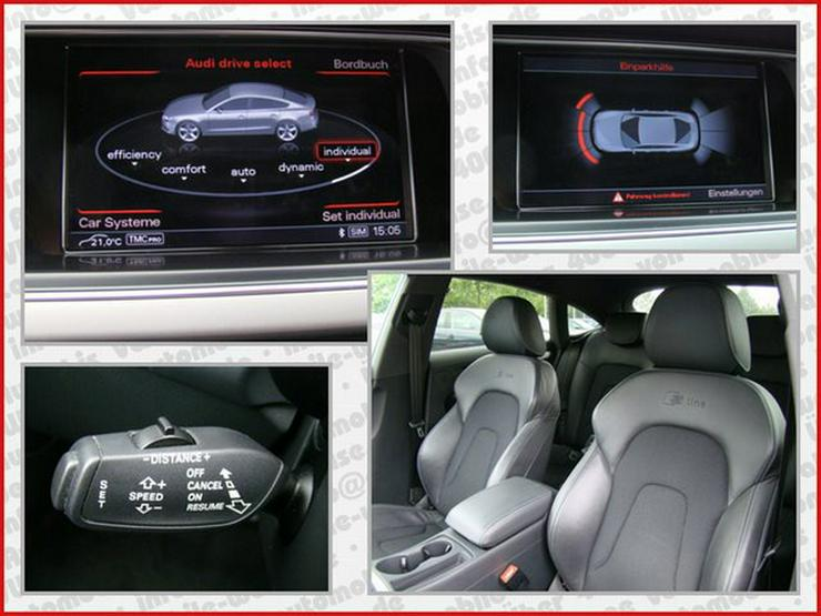 Bild 6: AUDI A5 3.0TDI Sportback multitronic S Line ACC Navi+