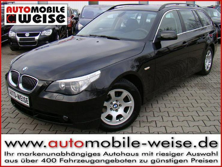 BMW 525i Tour. Xenon+ Navi PDC Klimaautom. SH - 5er Reihe - Bild 1