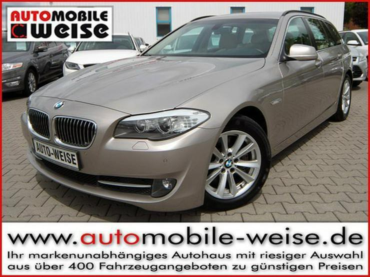 BMW 525 dTouring Aut. Xenon Kurvenlicht Parktronic Sitzheizung - 5er Reihe - Bild 1