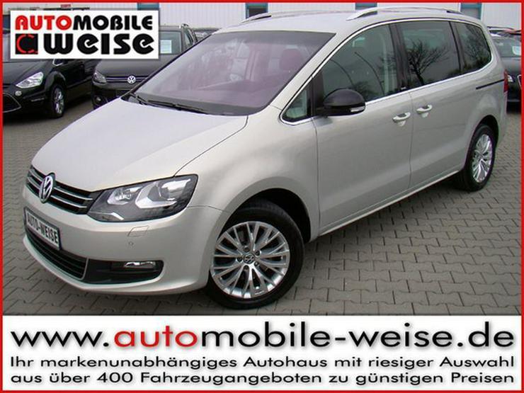 VW Sharan 2.0TDI 4Motion Style 7Sitze Kindersitze - Sharan - Bild 1